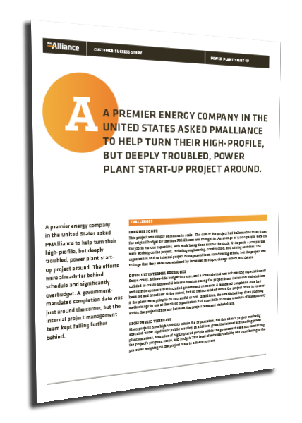 Power Plant Startup Case Study